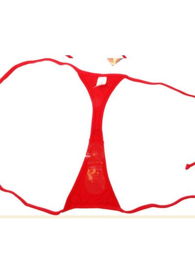 Nederdel - String CALCINHA RED MICRO