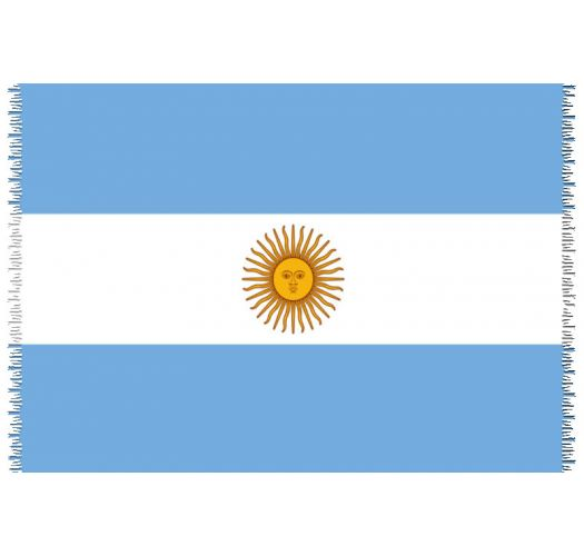 Pareo, Strandtuch - Nationalflagge Argentina