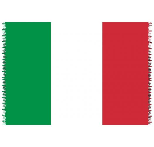 Brazilian beach towel - National flag Italy