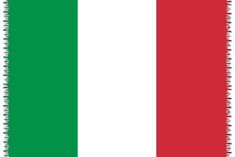Pareo, Strandhandduk Nationsflagga Italy