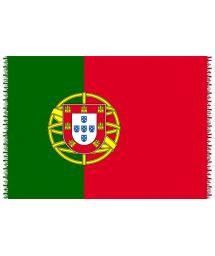 Pareo, Strandhandduk Nationsflagga Portugal