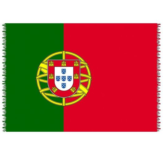 Brazilian beach towel - National flag Portugal
