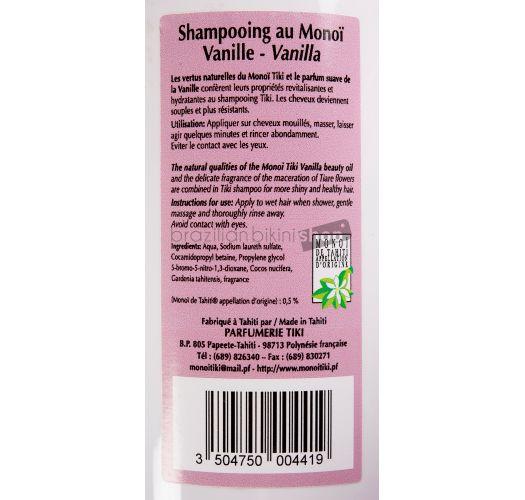 Monoi šampon, miris vanile, bez parabena - TIKI SHAMPOING MONOI VANILLE 250ml