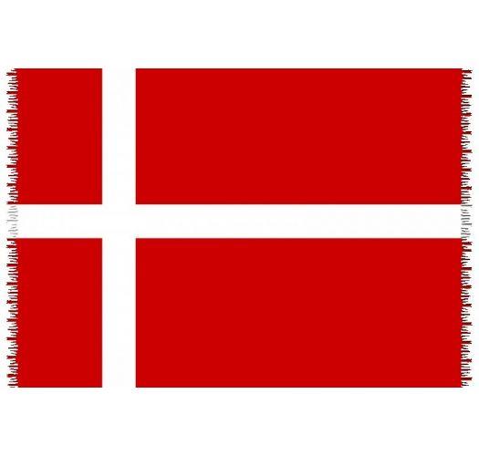 Brazilian beach towel - National flag Denmark