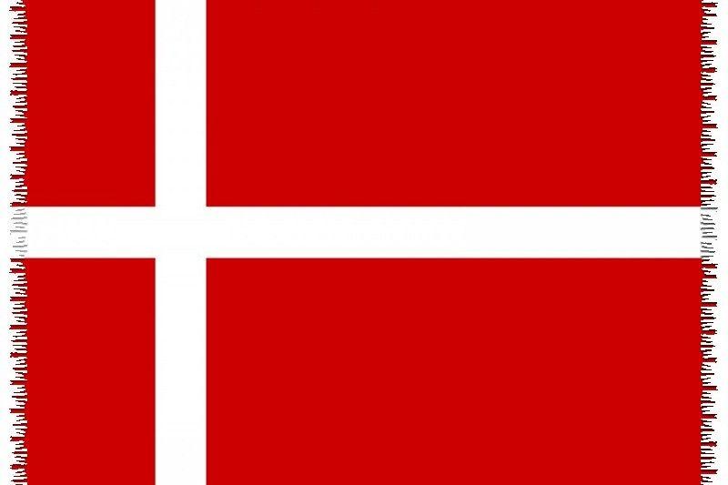 Pareo, Strandhandduk Nationsflagga Denmark