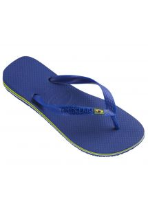 쪼리 - Brasil Marine Blue