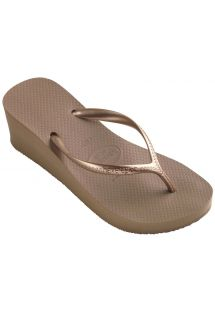 Flip-flops - High Fashion Rose Gold