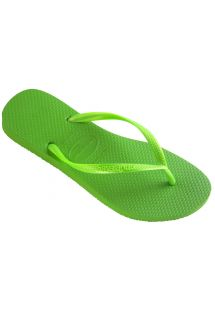 Chanclas - Slim Neon Green