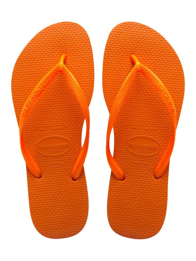 Flip-Flops - Slim Neon Orange