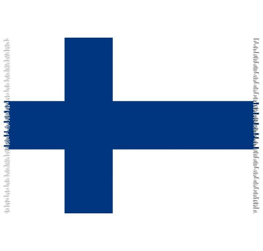 Brazilian beach towel - National flag Finland