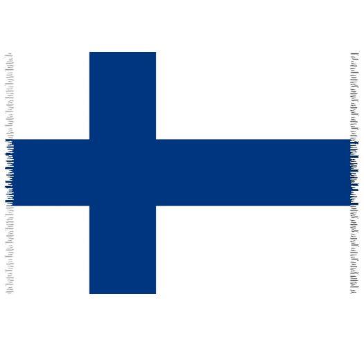 Brazilian beach towel - National flag Finland