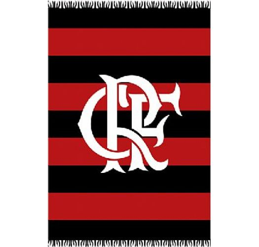 Brazilian beach towel - CANGA FLAMENGO