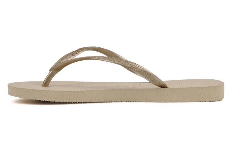 Flip-Flops - Slim Sand Grey/Light Golden