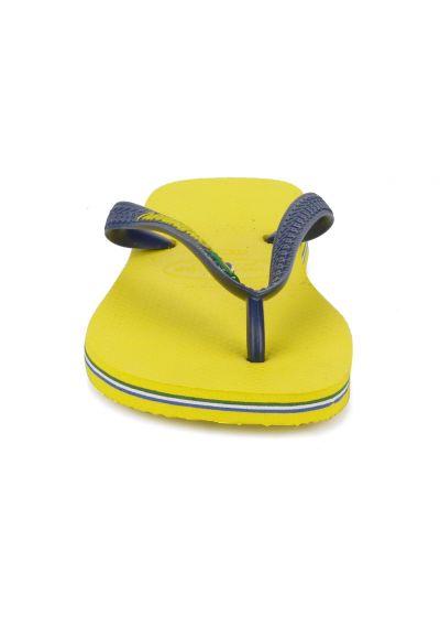 Flip-Flops - Brasil Logo Citrus Yellow