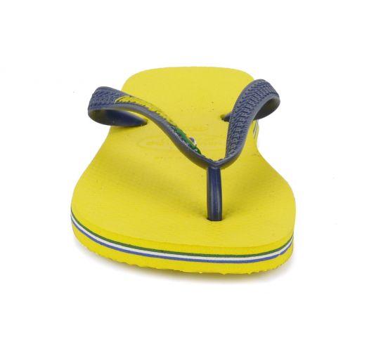 Tong - Brasil Logo Citrus Yellow