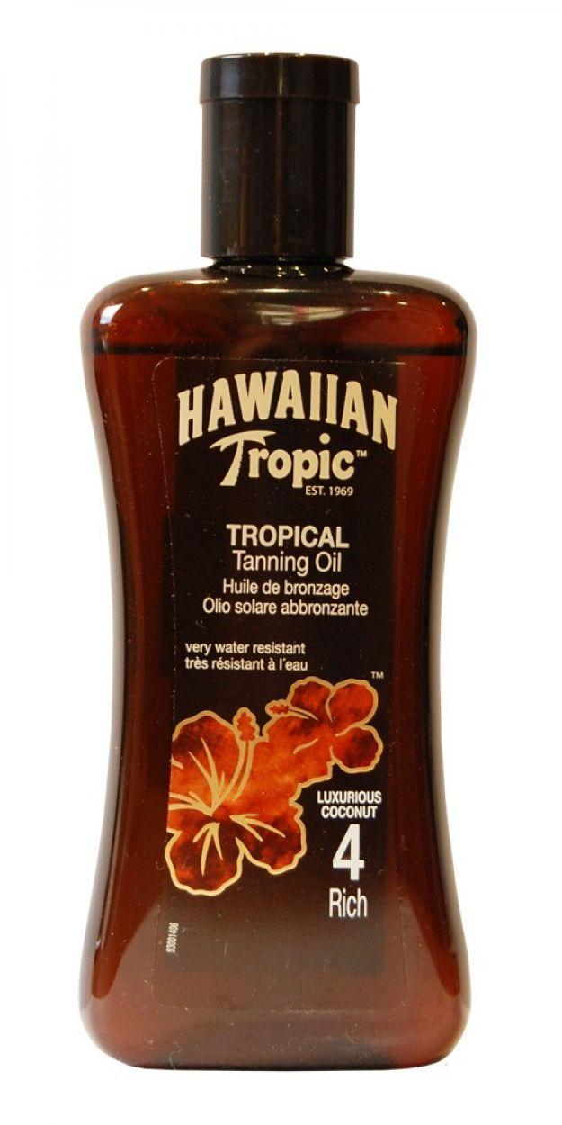 HAWAIIAN TROPIC BRONZING OIL 200ml FPS 4