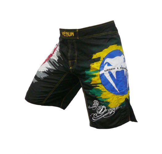 Men Swimwear - Venum DRAGON BLACK - MMA shorts