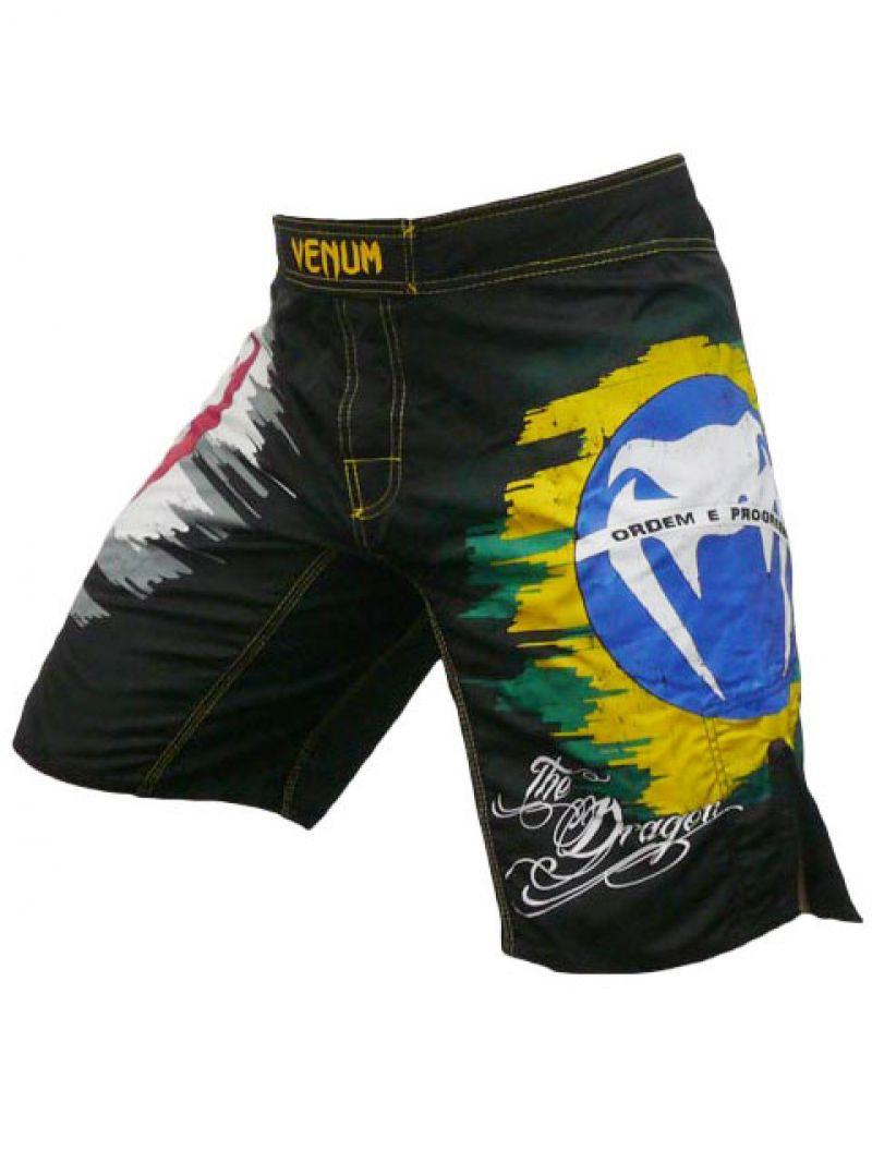 Badkläder för män - Venum DRAGON BLACK - MMA shorts