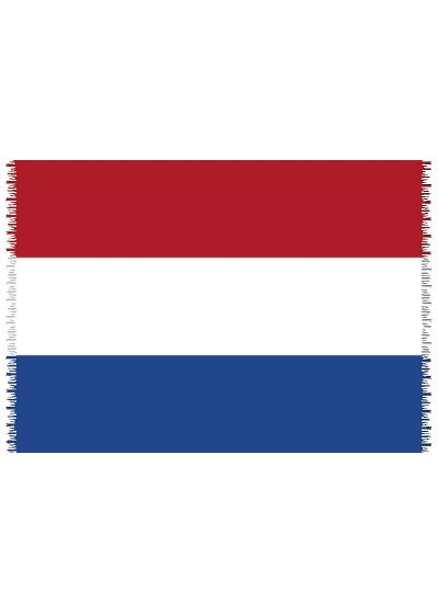 Pareo, Strandhandduk Nationsflagga Netherlands