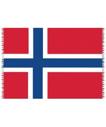 Brazilian beach towel - National flag Norway