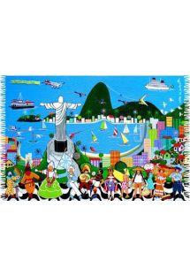 Pareo, Plazovy uterak - RIO NAIF