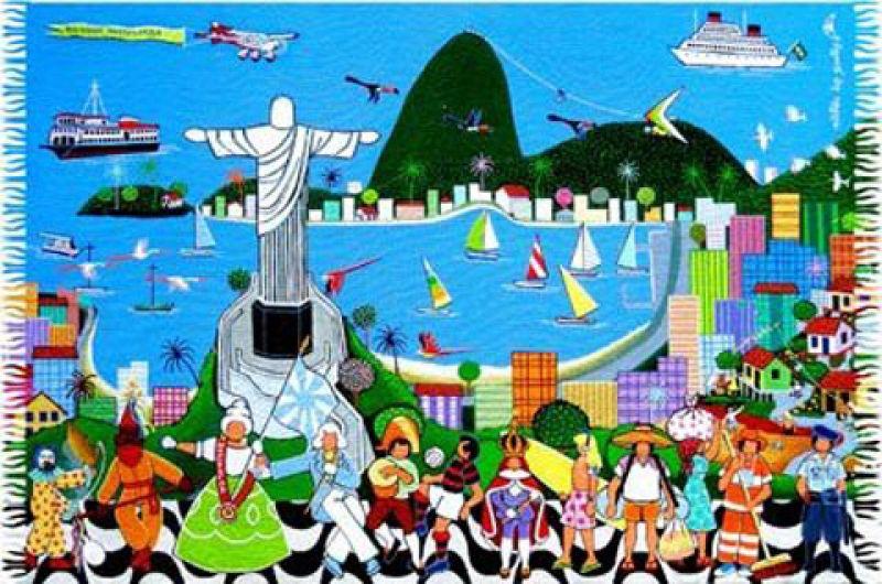 Brazilian beach towel - RIO NAIF