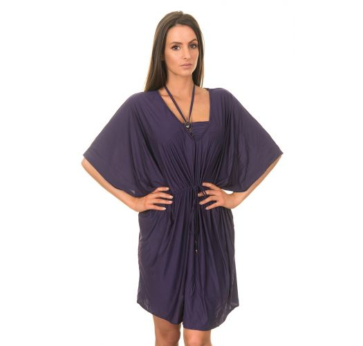 lenny niemeyer strandkleidung kaftan new touch short amethyst. Black Bedroom Furniture Sets. Home Design Ideas