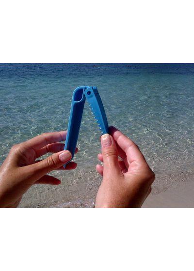 Badhandduksspännen Blue