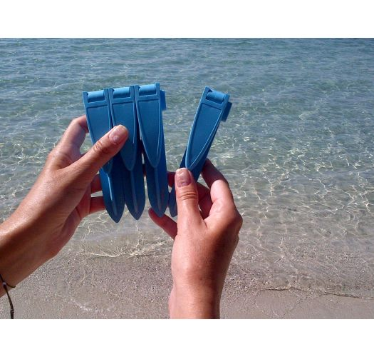 Pack of 4 Beach Towel Clips Blue