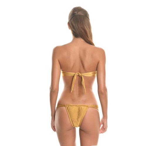Bandeau Bikini - RiodeSol TORNADO GOLD