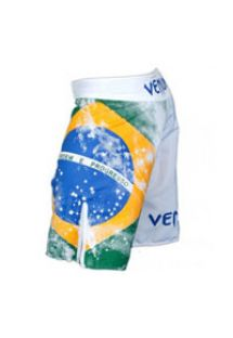 男性用水着 - VENUM BRAZILIAN FLAG FIGHTSHORTS - WHITE