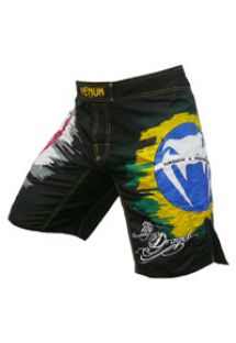 男士泳裝 - Venum DRAGON BLACK - MMA shorts