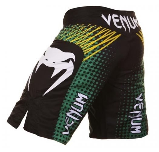 Men Swimwear - Venum ELECTRON BLACK - MMA Shorts