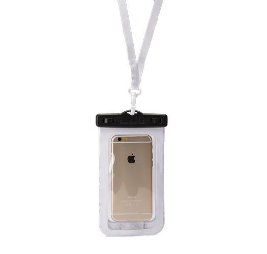 Wasserdichte Box für Smartphone SCHWARZ/WEIẞ - WATERPROOF CASE BLACK WHITE