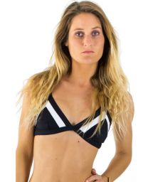BLACK AND WHITE CONTRASTS MIRAGE RIPCURL