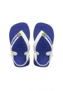 Slippers - BABY BRASIL LOGO MARINE BLUE