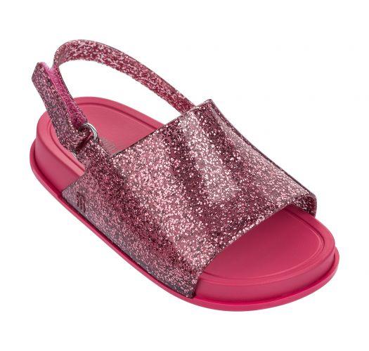 645c849d8861 Sandaler Baby Melissa Beach Slide Sandal Pink Glitter - Mærket Melissa