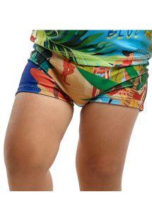 Kąpielówki dla chłopca w tropikalny wzór - BOTTOM JOHN MANGA LONGA BABY MARESIA