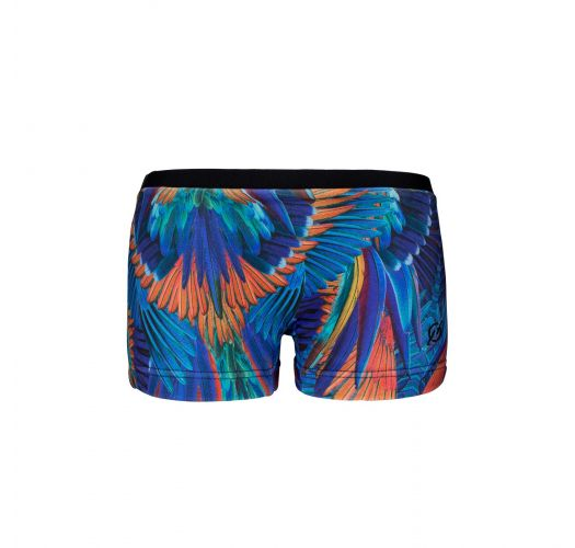 Baby boy colorful print swim trunks - BABY ARARAUNA