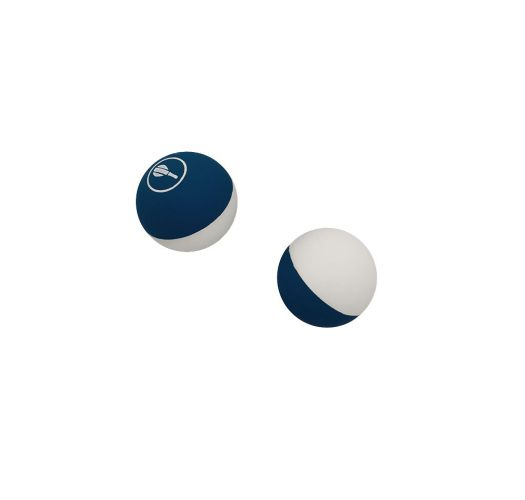 5 BAT BALLS NAVY & WHITE