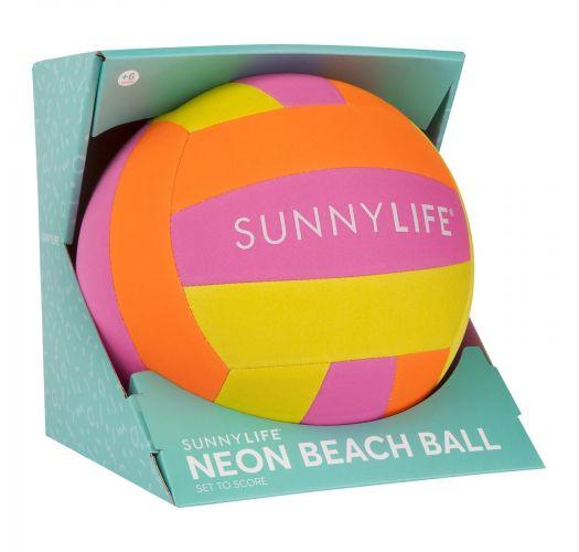 Colorful beachball - BEACH BALL NEON
