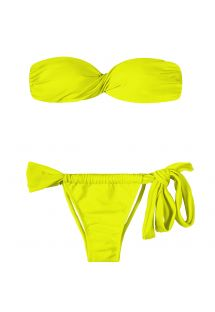 Bikini bandeau - ACID TORCIDO LACE
