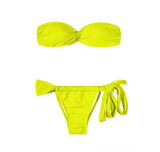 Bandeau Bikini - ACID TORCIDO LACE