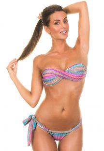 Bikinisi bandeau modelde - SALIS