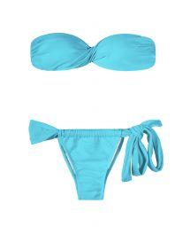 Bandeau Bikini - SKY TORCIDO LACE