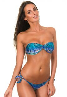 Bikini kopalke bandeau - VIOLINA