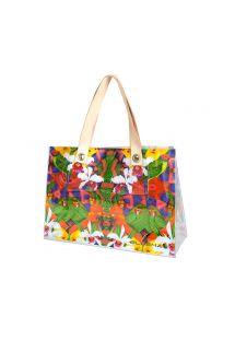 Beach bag Cabas style - BOLSA EXUBERANTE