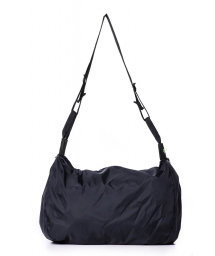 Black sport bag with waterproof fabric - BOLSA NANI