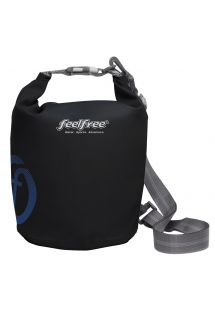 Black waterproof bag 5 L - DRY TUBE 5L BLACK