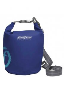 Waterproof dark blue shoulder bag capacity 5 L - DRY TUBE 5L BLUE SAPPHIRE